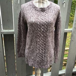 Joe Fresh Cable Knit Sweater Size Medium